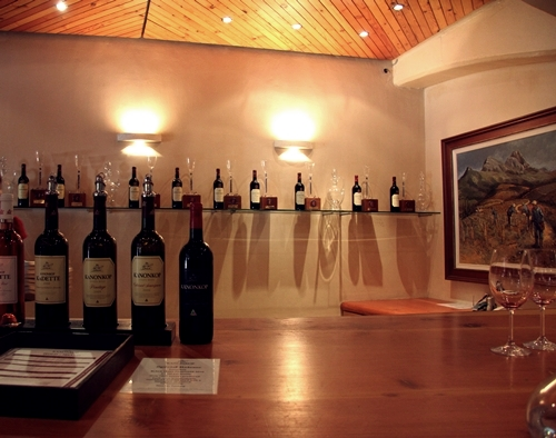 image from a tasting at Kanonkop