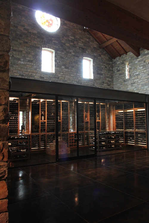 image inside Silver Oak Cellars on Oakville Crossroad.