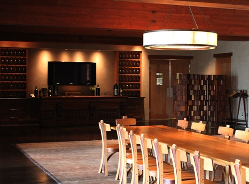 image from the function room at Silver Oak Cellars