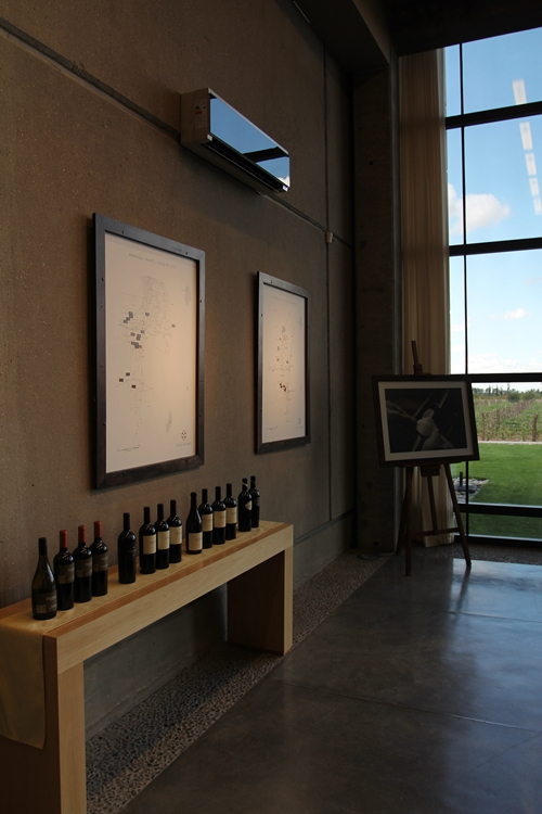 image from the tasting room at Vina Cobos