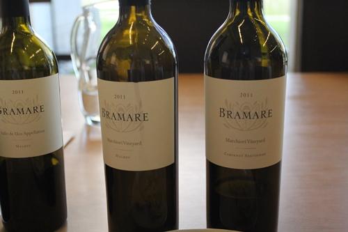 image of the Bramare range at Vina Cobos