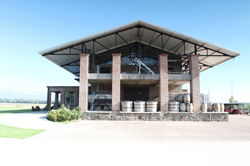image of Achaval Ferrer's winery in Perdriel