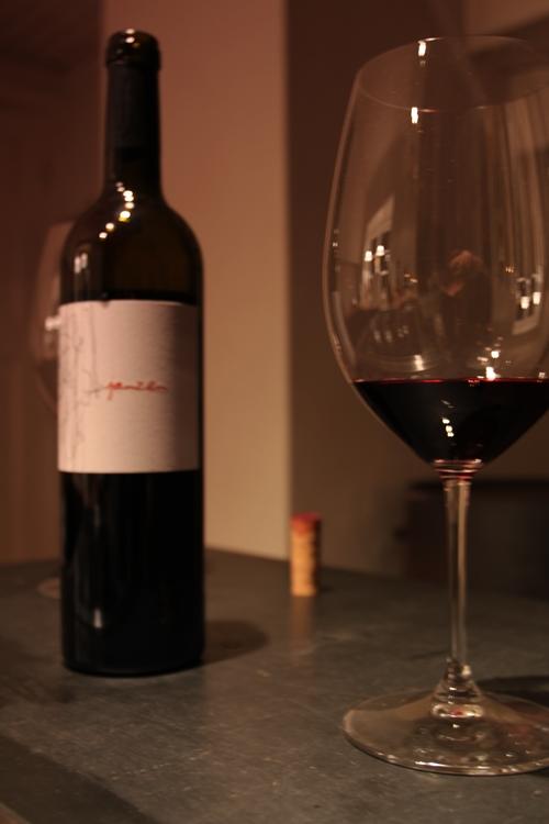 2009 Janzen To Kalon Cabernet in a Riedel Cabernet glass